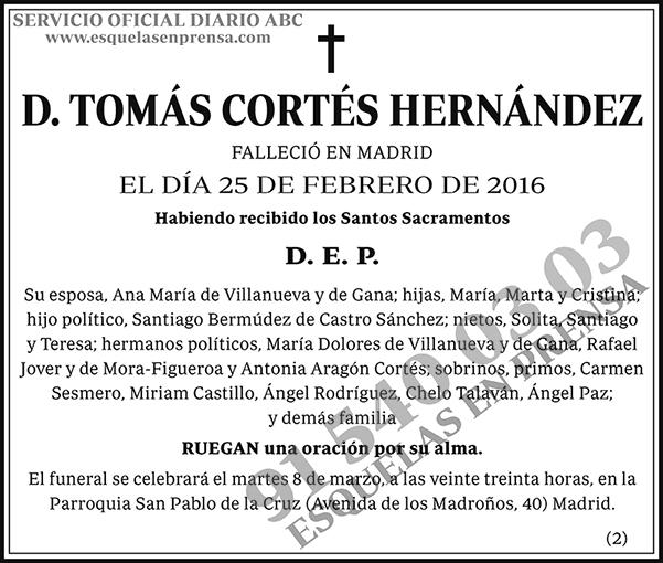 Tomás Cortés Hernández